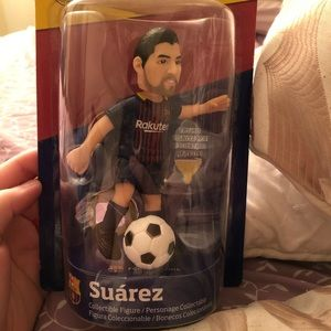 Suarez collectable figure for Barcelona